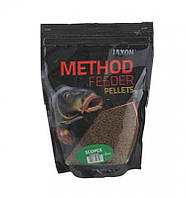 ПЕЛЛЕТЫ JAXON METHOD FEEDER 2мм 500g scopex