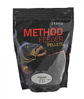 ПЕЛЛЕТЫ JAXON METHOD FEEDER 2мм 500g fish mix