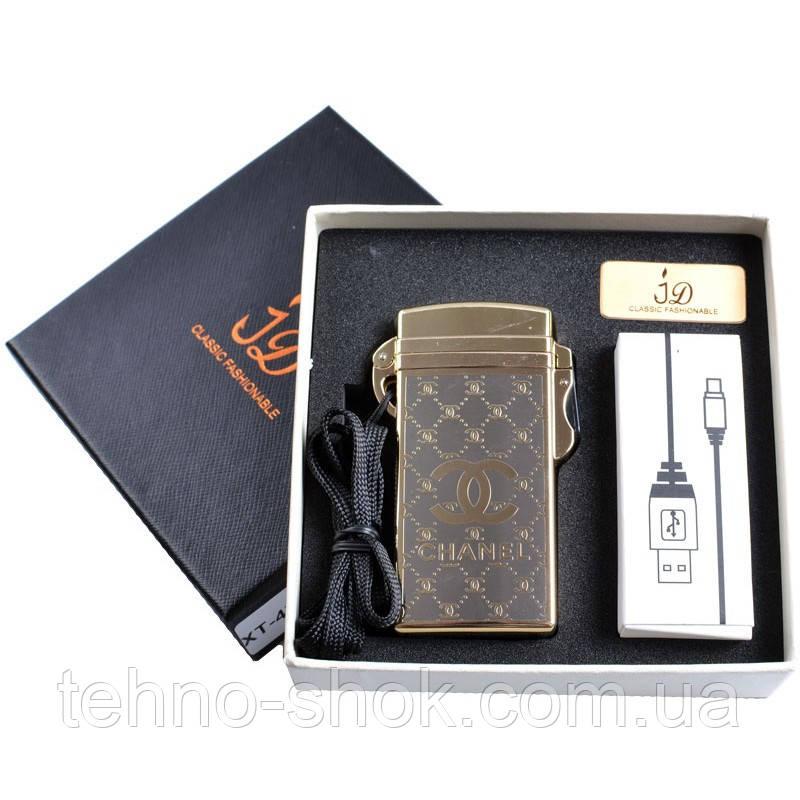 Зажигалка подарочная (Электроимпульсная, USB) №4760-3