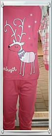 """Пижама или домашний костюм для девочки """"Олень"""""""