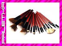 Проф. набор кистей для макияжа 18 штук #3