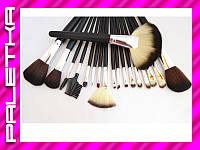 Проф. набор кистей для макияжа 18 штук #24