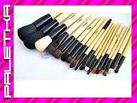 Проф. набор кистей для макияжа 18 штук #19