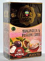 Чёрный чай Rivon «Мангустин» PEKO 100г