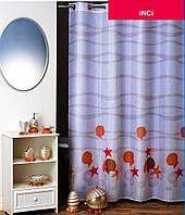 """Штора в ванную 180 x 200 см """"Инжи"""", текстиль"""