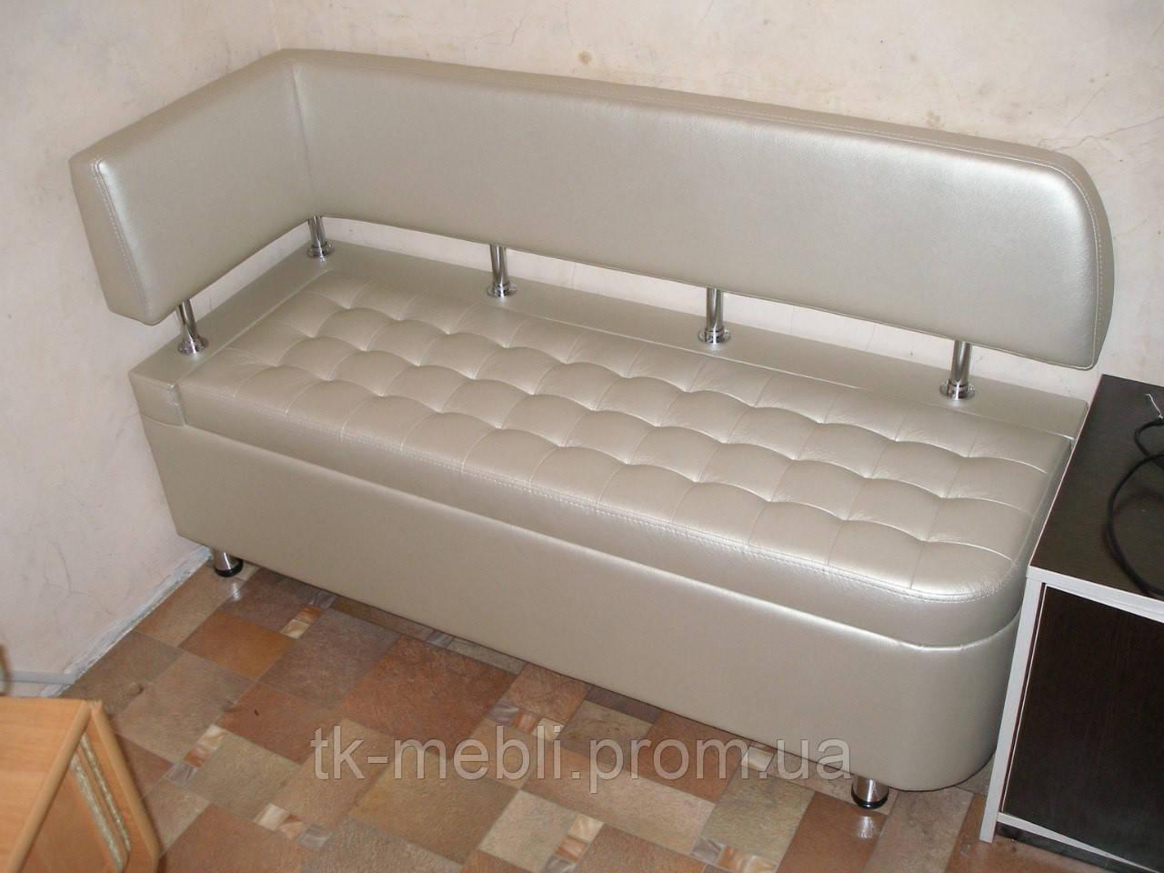 диванчик для маленькой кухни тринити с боковой спинкой купить