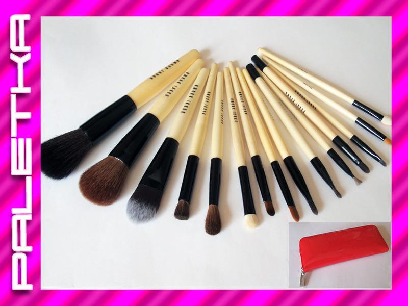 Проф. набор кистей для макияжа 15 штук #5 Bobbi Brown (реплика)