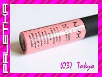 Жидкая помада NYX Soft Matte Lip Cream ((03) Tokyo)