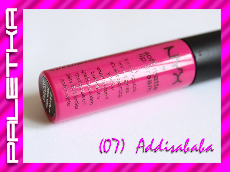 Жидкая помада NYX Soft Matte Lip Cream ((07) Addisababa)