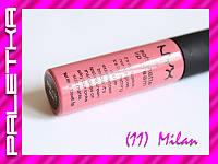 Жидкая помада NYX Soft Matte Lip Cream ((11) Milan)