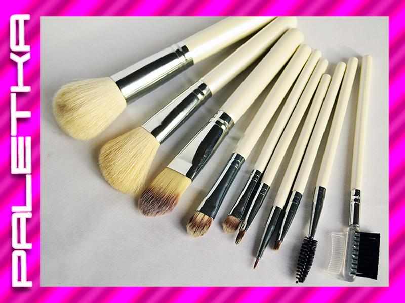 Проф. набор кистей для макияжа 10 штук #6