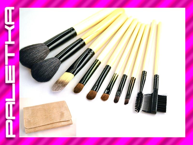 Проф. набор кистей для макияжа 10 штук #5