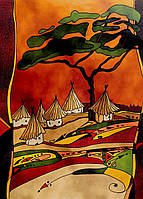 Пазл с песочным Эффектом, Деревня, 500 эл , Clementoni (30351)