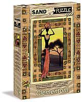 Пазл с песочным Эффектом, Женщина Etnical, 500 эл , Clementoni (30353)