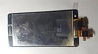 Дисплей  (экран) Sony-Ericsson Xperia TX, LT29 с черным сенсором original.