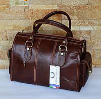 Коричневая итальянская сумка Rino Dolfi 02