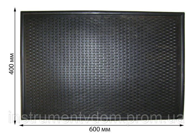 """Коврик резиновый """"Волна"""", 600х400 мм (упаковка 5 шт)"""