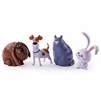 4 фигурки героев Secret Life of Pets - Тайная жизнь домашних животных