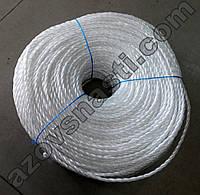 Веревка полипропиленовая (самокрут) диаметр 4,5 мм длина 200 метров, фото 1