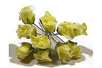 Роза 10792-1-6-1 желтая