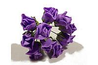 Роза 10792-1-6-1 фиолет
