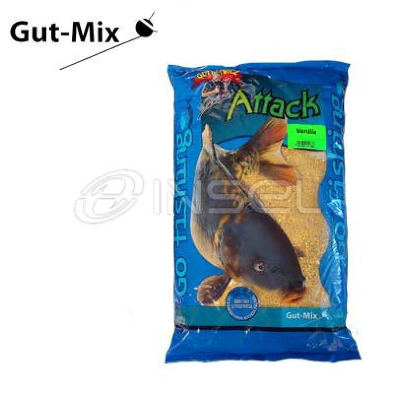 Прикормка грUTKIEWICZ ATTACK (Ваниль) 3 кг