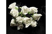Роза 1792-1-6-1 белая