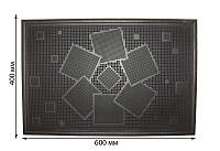 """Коврик резиновый """"Солнце"""", 600х400 мм (упаковка 5 шт)"""