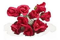 Роза 10792-1-6-1 красная