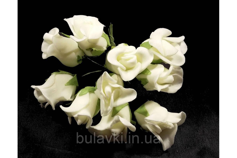 Роза 10792-1-6-1 молочная