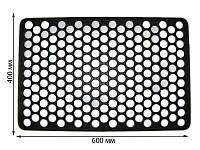 """Коврик резиновый """"Соты"""", 600х400 мм (упаковка 5 шт)"""