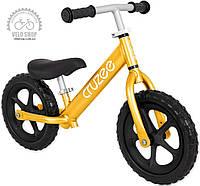 Беговой велосипед CRUZEE золотой