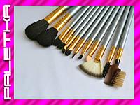 Проф. набор кистей для макияжа 12 штук #24