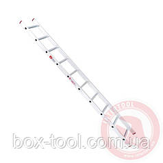 Лестница алюминиевая приставная 10 ступеней 2,84 м INTERTOOL LT-0110