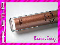 Акция! Блеск для губ NYX (07-Brown Topez)