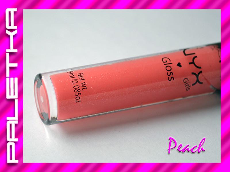 Акция! Блеск для губ NYX (13-Peach)