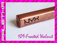 Блеск для губ NYX Mega Shine Lipgloss (109-Frosted Walnut)
