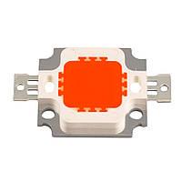LED матрица - светодиод 10 w красный цвет САМАЯ НИЗКАЯ ЦЕНА!