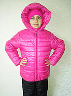 """Детская  курточка  на девочку  """"Малинка"""""""
