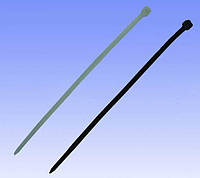 Хомут нейлоновый кабельный 100х2,5мм