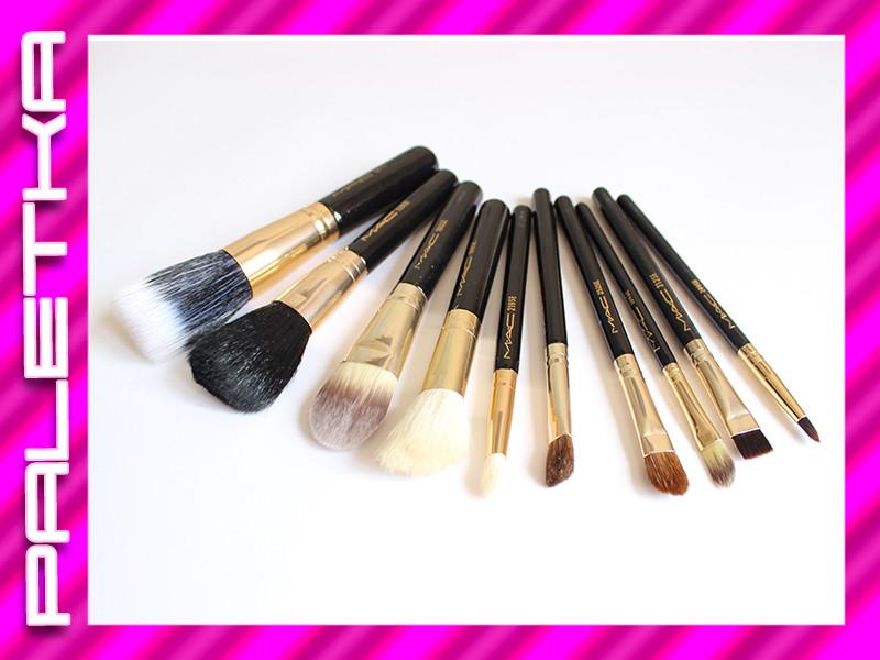Проф. набор кистей для макияжа 10 штук #1 MAC (реплика)