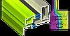 "Поворотно-откидное окно из ""теплого"" алюминия, покраска RAL двухстороняя, Lorenzoline 54Т, 1300*1400, фото 2"