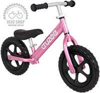 Беговой велосипед CRUZEE розовый