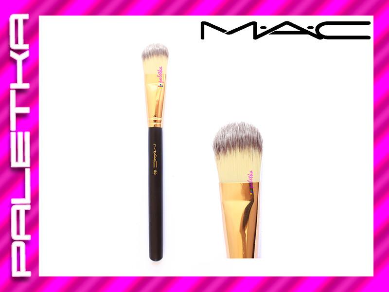 Кисть MAC 190 реплика  (для тональных основ) Gold