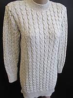 Вязанные теплые туники для женщин., фото 1