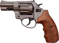 "Револьвер Trooper. Револьвер под патрон Флобера Trooper 2.5"" сталь титан пластик/под дерево."