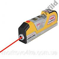 Лазерный уровень со встроенной рулеткой 2,5 метра лазерная линейка q03