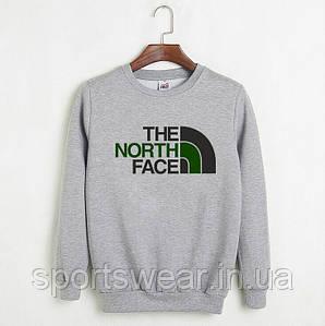 "Свитшот серый  THE NORTH FACE """" В стиле The North Face """""
