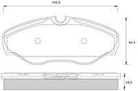 Тормозные Колодки  передние Renault Трафик Opel Виваро Харьков 7701054771 ХАРЬКОВ