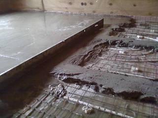 Матеріали для бетонування і стяжки